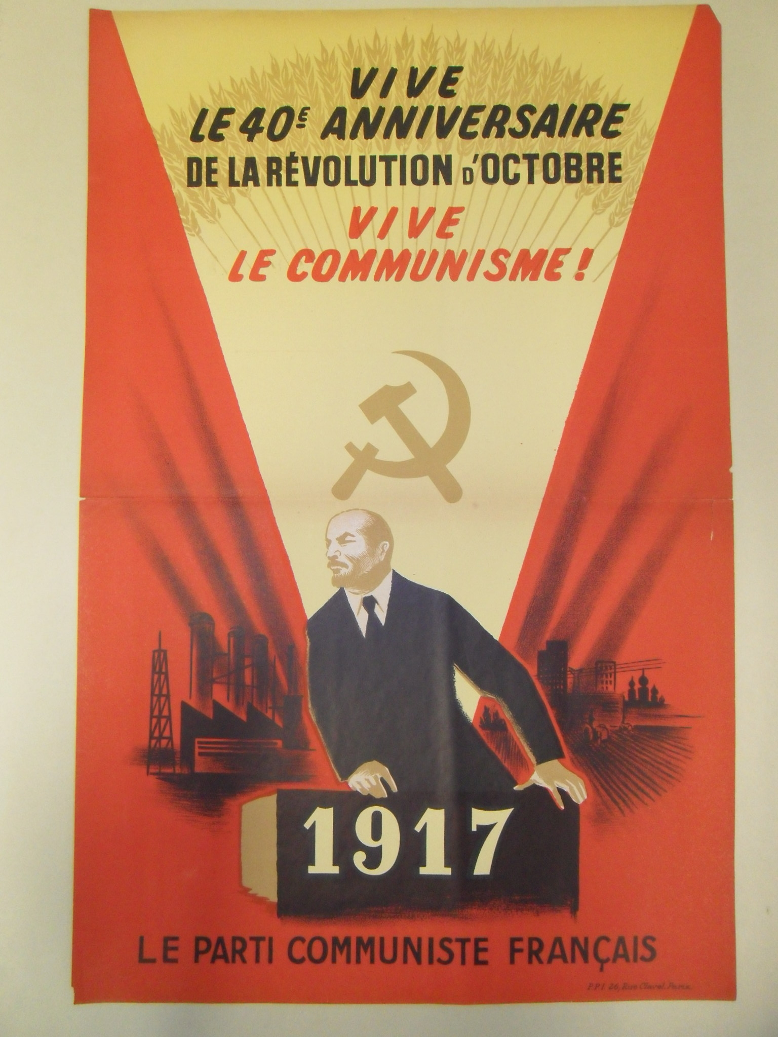 French Communist Party Posters – Vault217