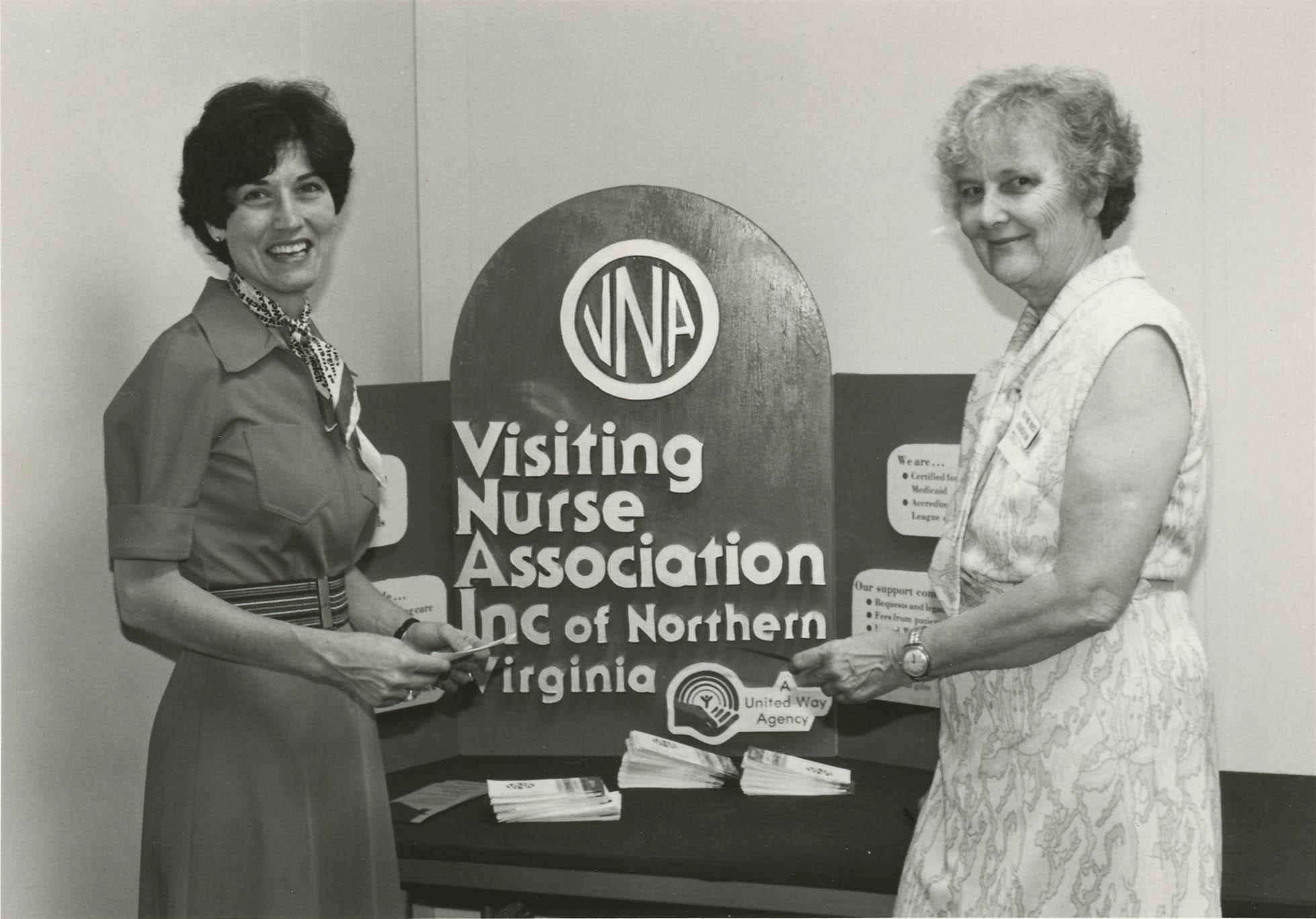 Emilie Deady of the Visiting Nurse Association