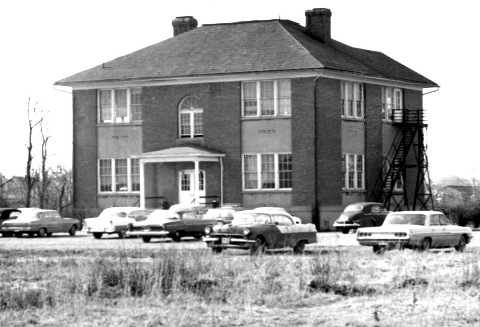 George Mason College Bailey's Crossroads Campus 1964 from the south