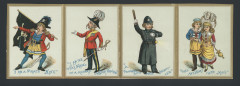 Print of children as Pirates of Penzance characters. From the David and Annabelle Stone Gilbert and Sullivan Collection