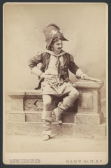 Photograph of J. S. Greensfelder as Pirate King in Gilbert And Sullivan's Pirates of Penzance